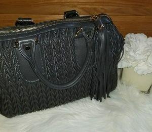 Handbags - Gray Faux Leather Purse